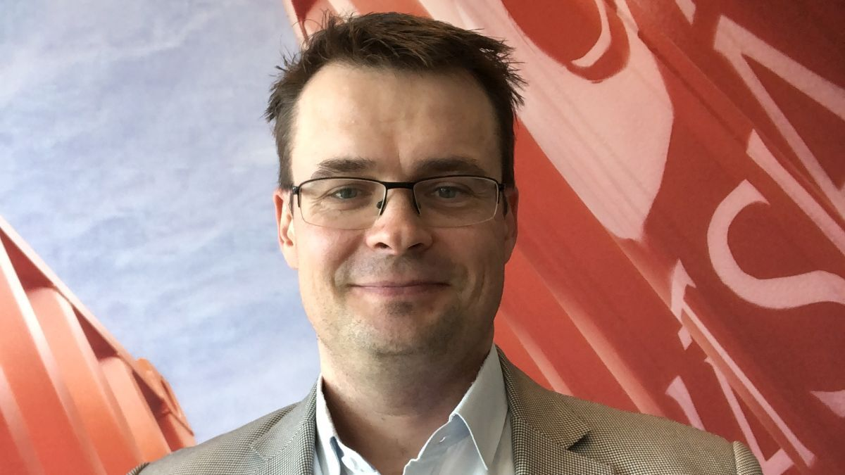 Lauri Tiainen (Wärtsilä): Thruster efficiency is vital for station keeping (source: Wärtsilä)