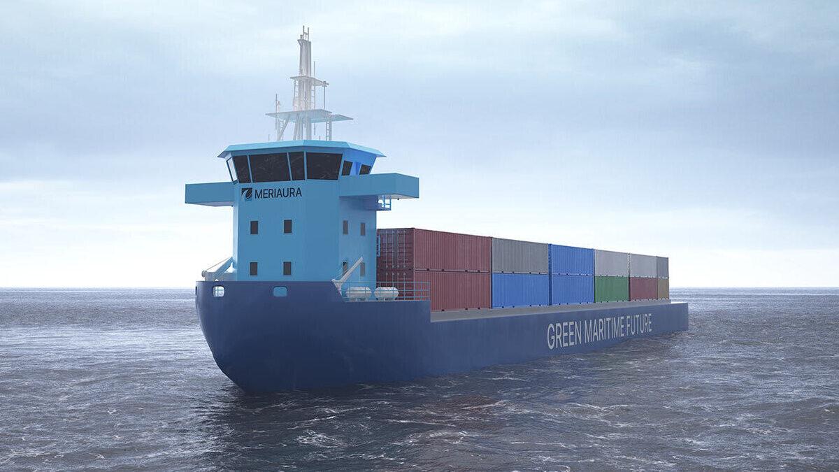 Meriaura will run a pilot scheme in Lake Saimaa on a new vessel type that uses hybrid propulsion (Image: Meriaura Group)