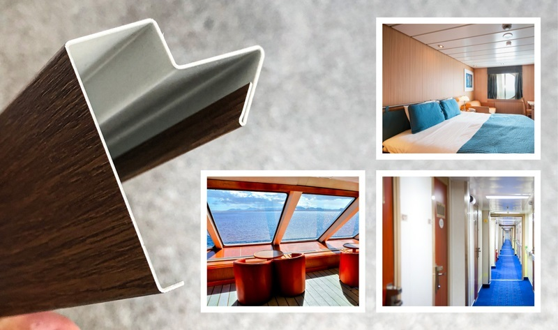 Why Laminated Metal Is An Excellent Choice For Cruising Ship Interiors