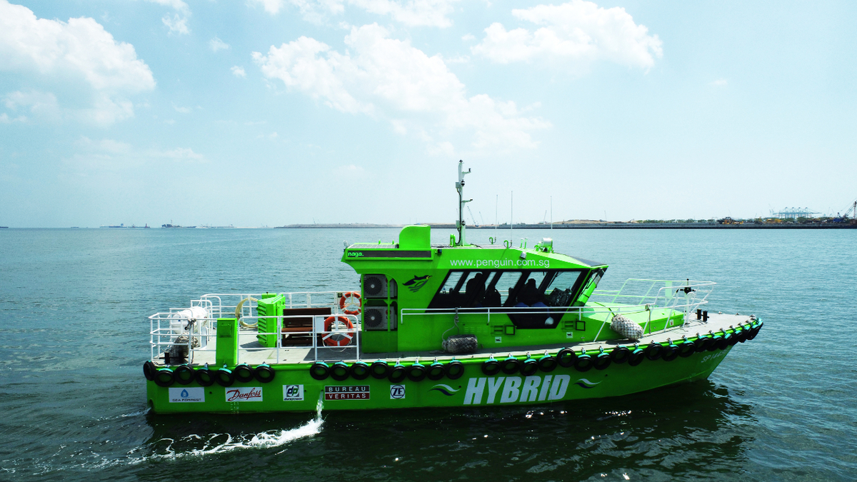 Singapore's first hybrid-electric pilot boat delivered