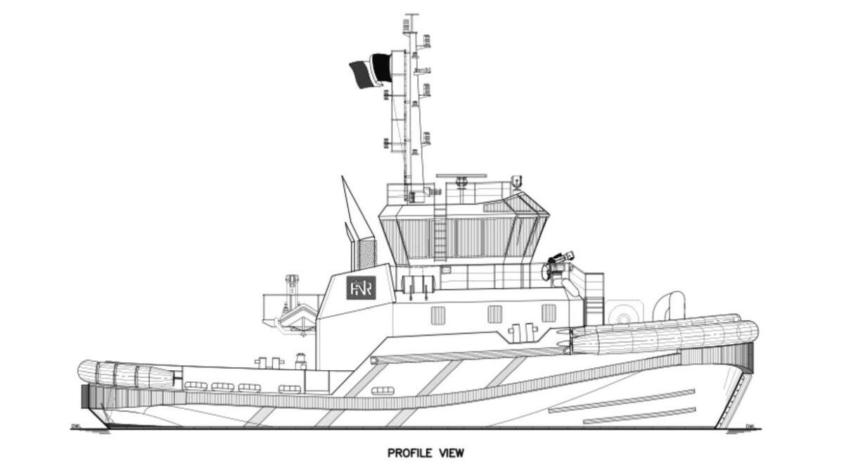 Robert Allan's RAstar 2700 design for Rimorchiatori Napoletani (source: Robert Allan)
