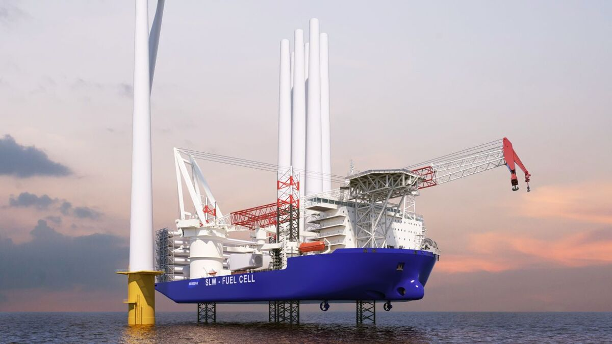 Samsung Heavy Industries secures AIPs for environmentally friendly turbine installation vessel