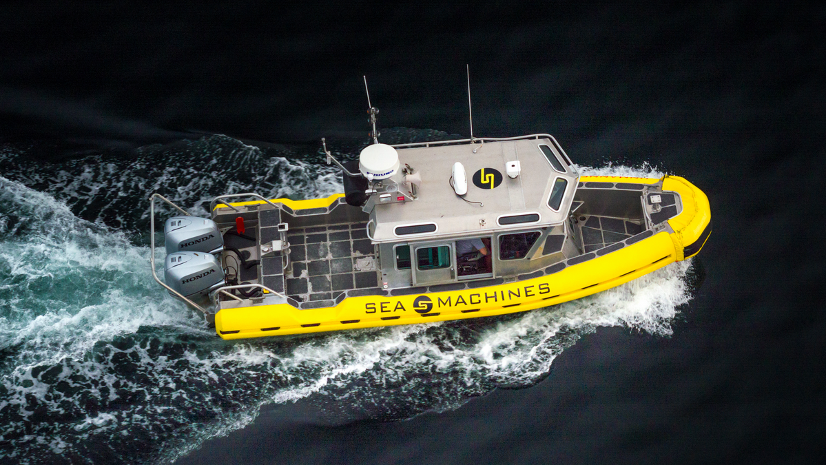 The pilot-assist product is slated to be operational in 2022 (Image: Sea Machine Robotics/Boston Aerials)