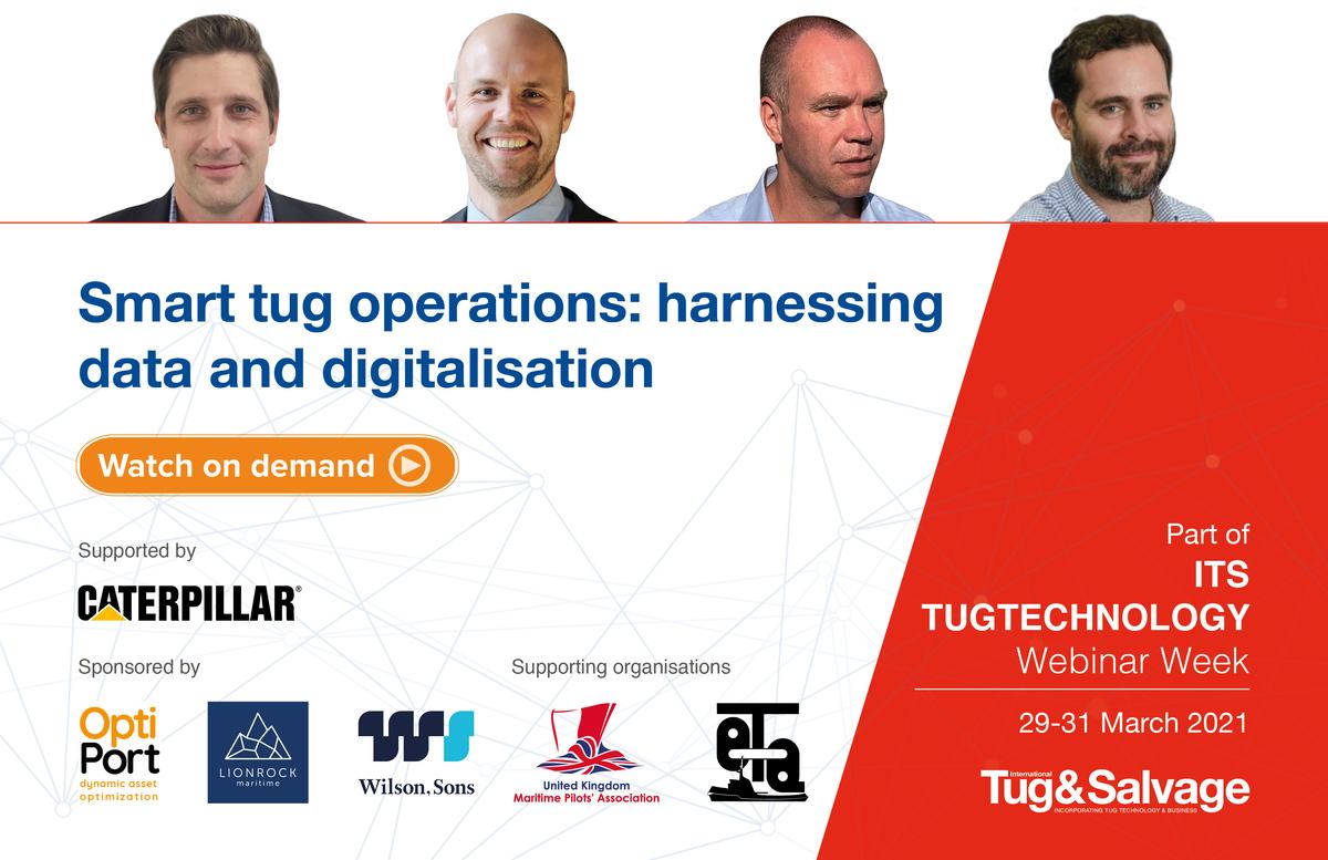 Smart tug operations: harnessing data and digitalisation panel