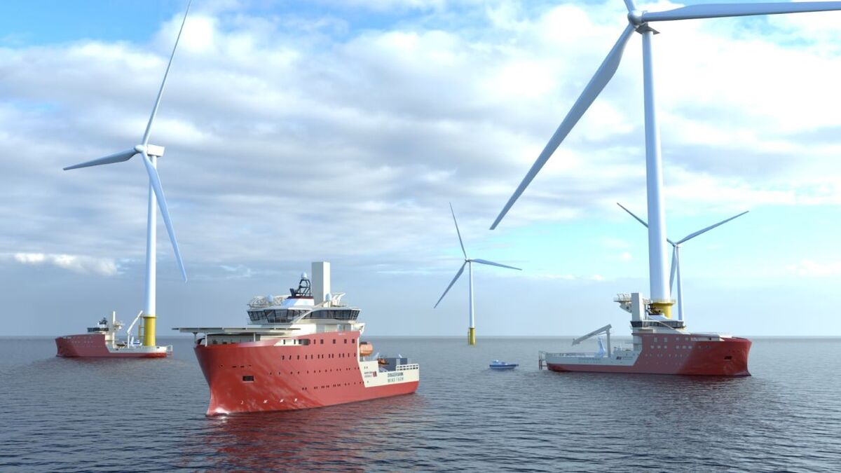 Vard Vung Tau in Vietnam is to build three SOVs for North Star Renewables, a Vard 4 19 and two Vard 4 12 vessels