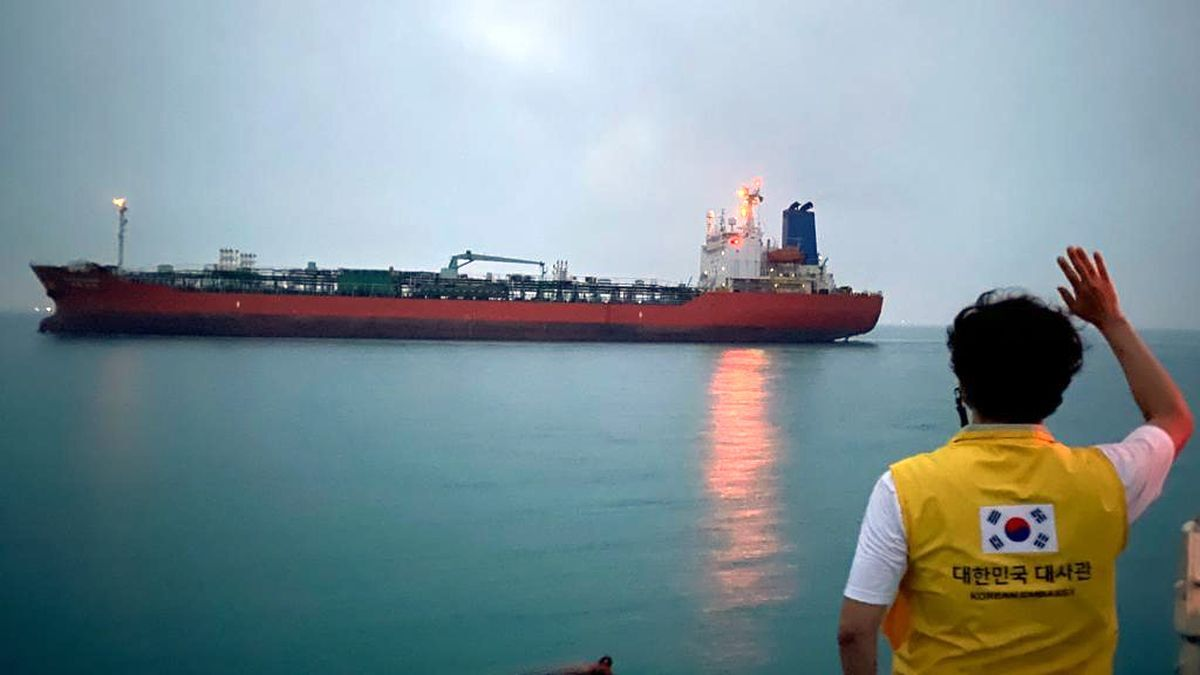 The South Korean-flagged tanker Hankuk Chemi has been released by Iran more than three months after the vessel was seized by revolutionary guard forces (source: South Korean Foreign Ministry)