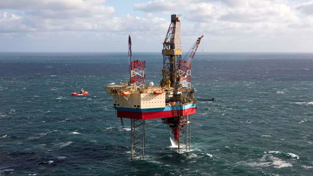 Maersk Resolute will be modified to reduce greenhouse gas emissions prior to its drilling campaign (source: Maersk Drilling)