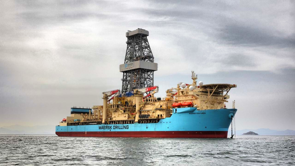 Maersk Venturer will drill offshore Ghana for four years (source: Maersk Drilling)