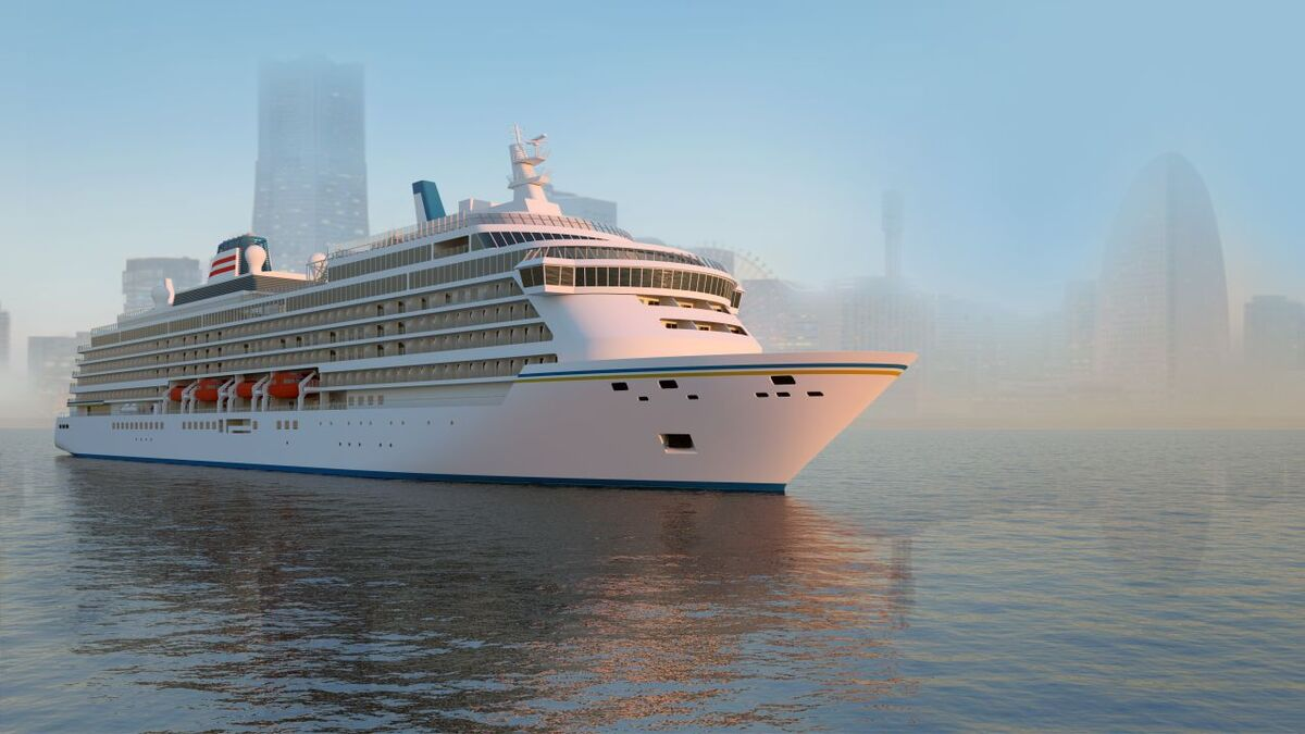 NYK Cruises' LNG-propelled ship will be built by Meyer Werft (Source: Mayer Werft)