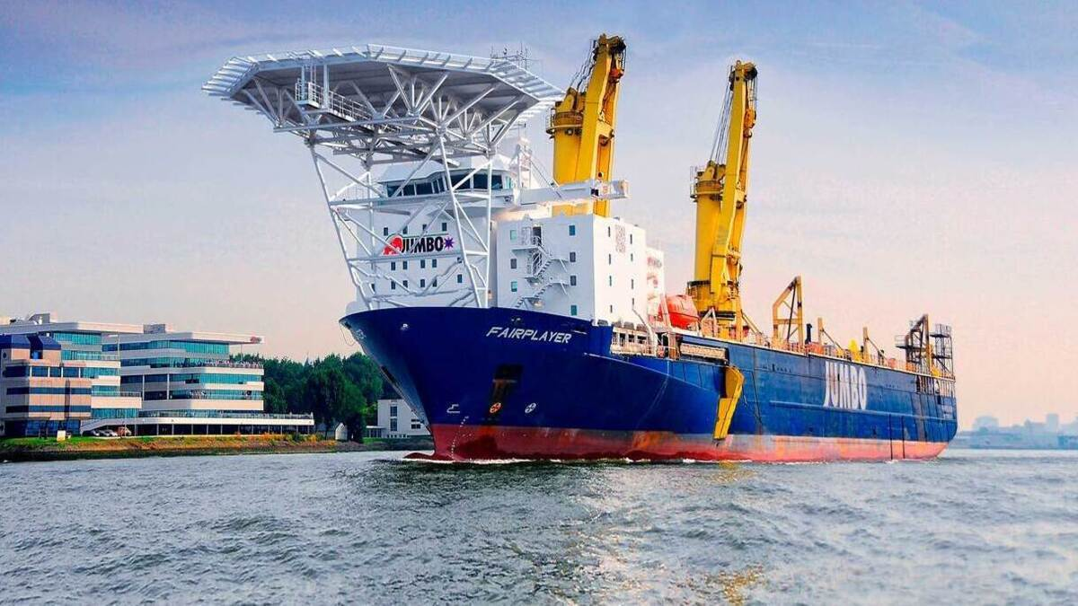 Jumbo-SAL JV creates heavyweight in the heavy-lift sector
