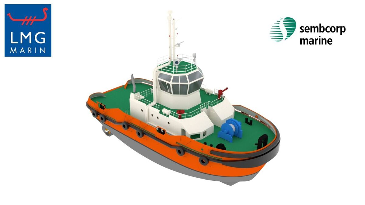 Schottel is supplying Sydrive-E thrusters to Sembcorp's hybrid LNG tugs (source: Sembcorp)