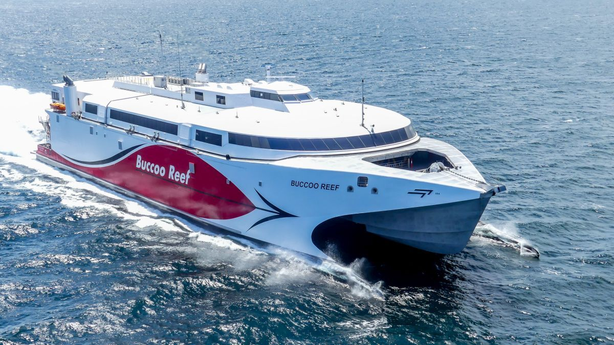 Fast ferry for Trinidad and Tobago: efficient and environmentally conscious