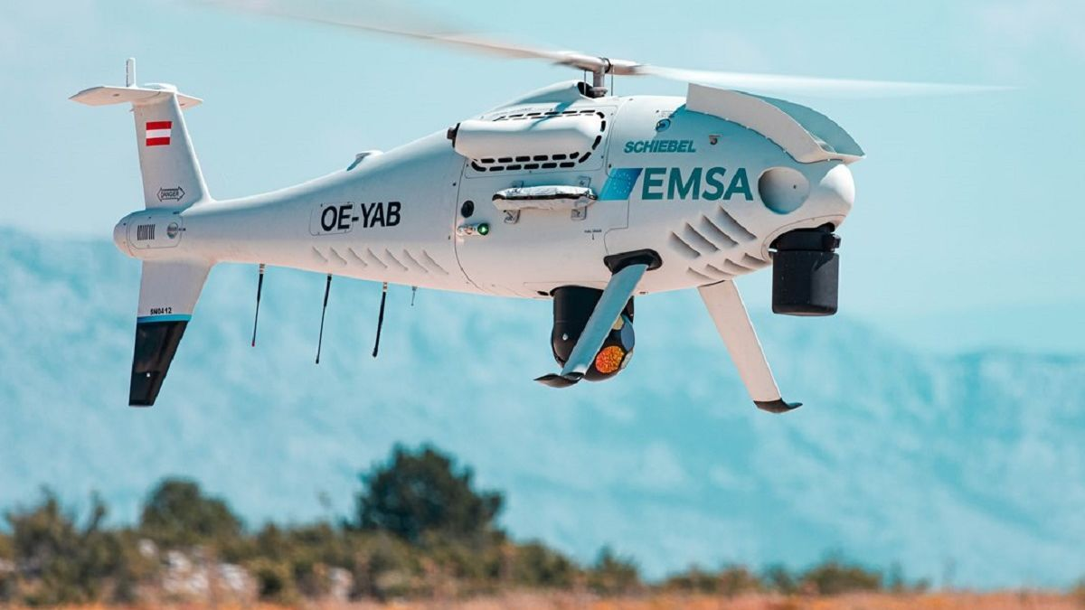 EMSA deploys maritime safety and pollution drone over Baltic Sea
