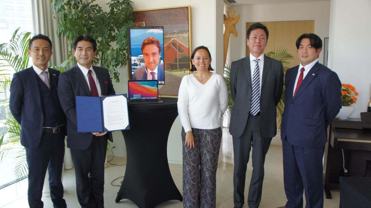 CMB and Tsuneishi sign a joint venture agreement in Japan (source: CMB)