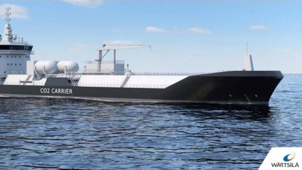 Wärtsilä has developed a new cargo containment tank for liquefied CO2 carriers (source: Wärtsilä)