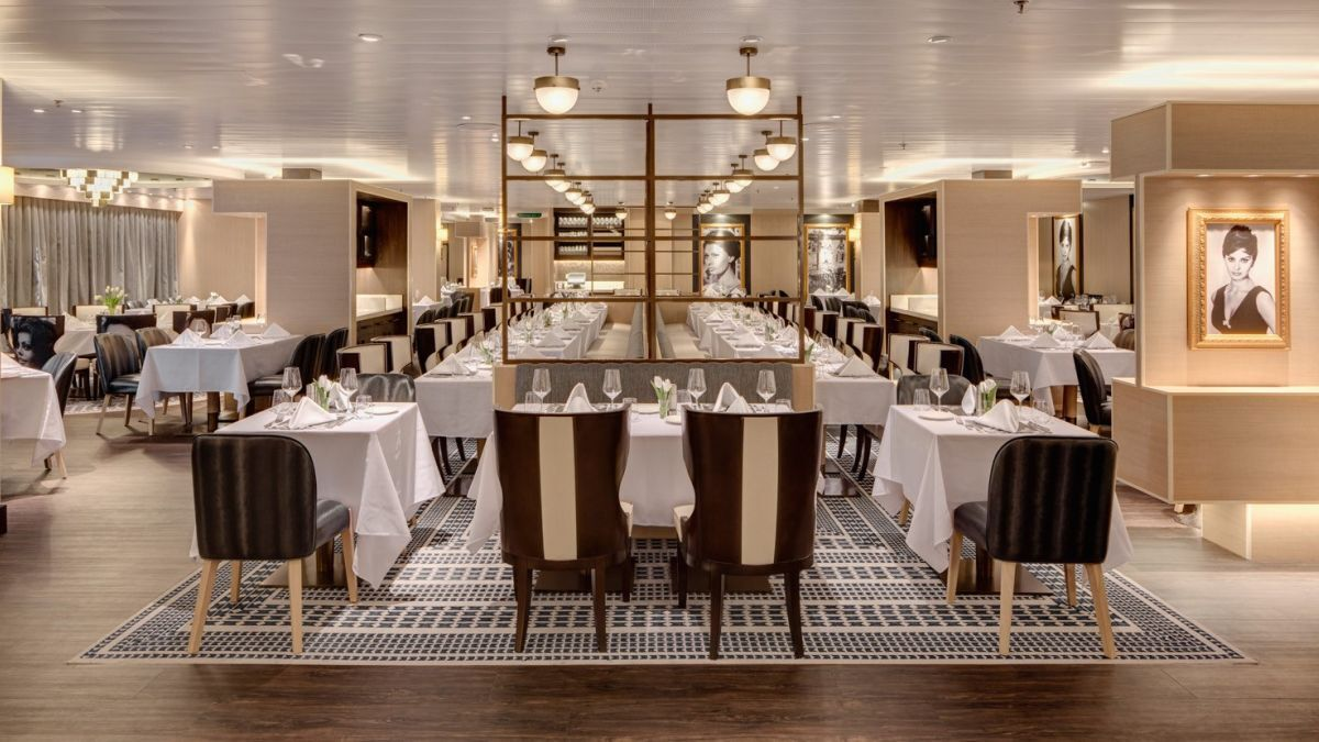 With more dining options and anytime dining comes more flexible passenger flow (Pictured: Pacific Explorer)