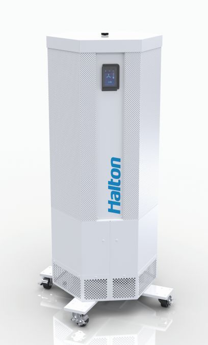 Halton Marine's UVGI-SA Halton Sentinel Mobile unit has been developed as a result of the pandemic