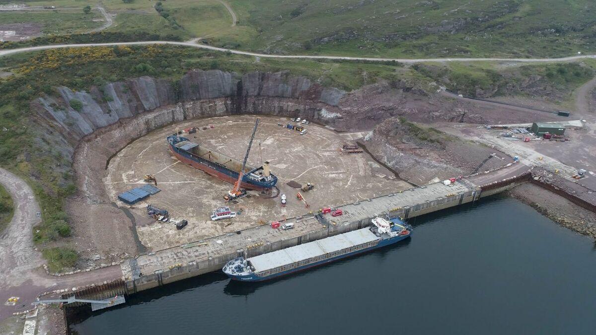 Kishorn Port welcomes approval for drydock extension