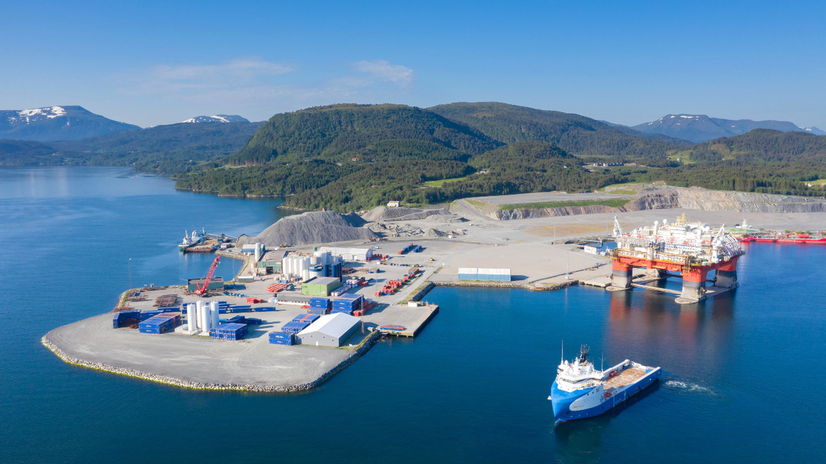 Kristiansund will be the preferred base supplier for INEOS Oil & Gas Norway's first drilling operation on the NCS (source: ASCO)