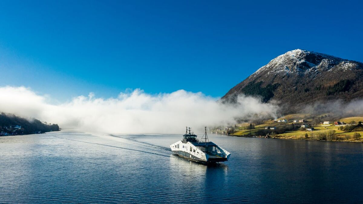 Westcon delivers zero-emissions ferry to Norled