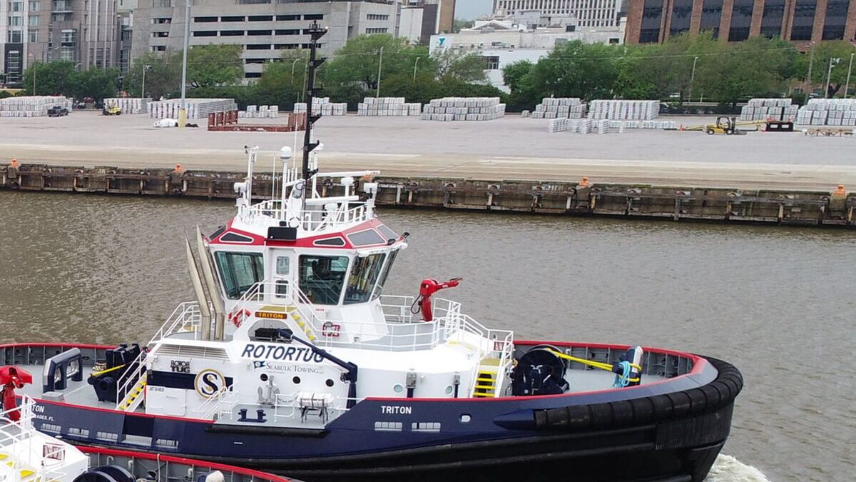 A Rotortug operated by Seacor subsidiary Seabulk Towing (source: Seacor)