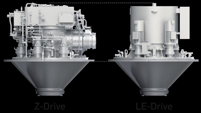 Schottel unveils electric drives for thrusters and propellers