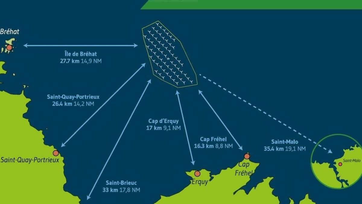 The 496-MW Saint-Brieuc offshore windfarm is due to be completed over three years