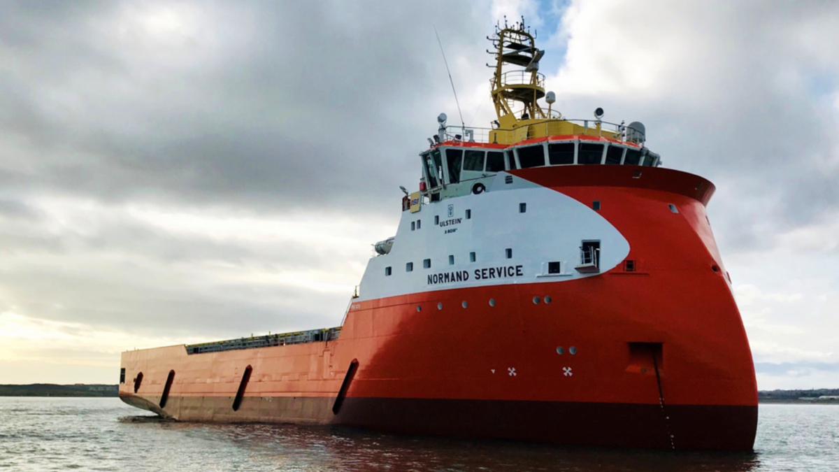 Solstad's Sea Flyer will operate for TAQA for two years in the UK North Sea (source: Solstad)