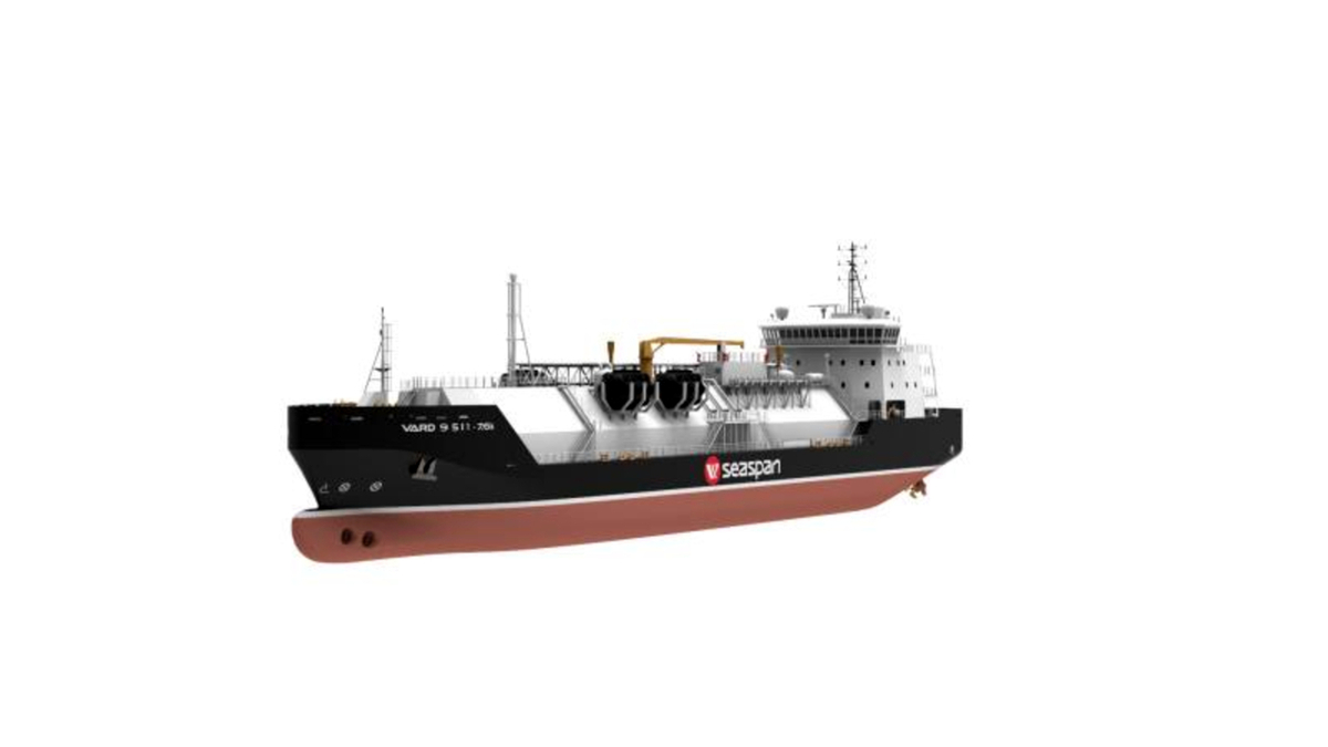 AiP for 'future-proof' Seaspan LNG bunker vessel