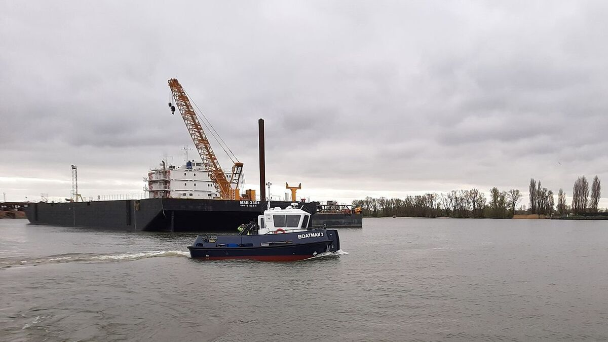 Stan Tug 1004 Boatman2 was sold by Damen to Corps van Vletterlieden (source: Damen)