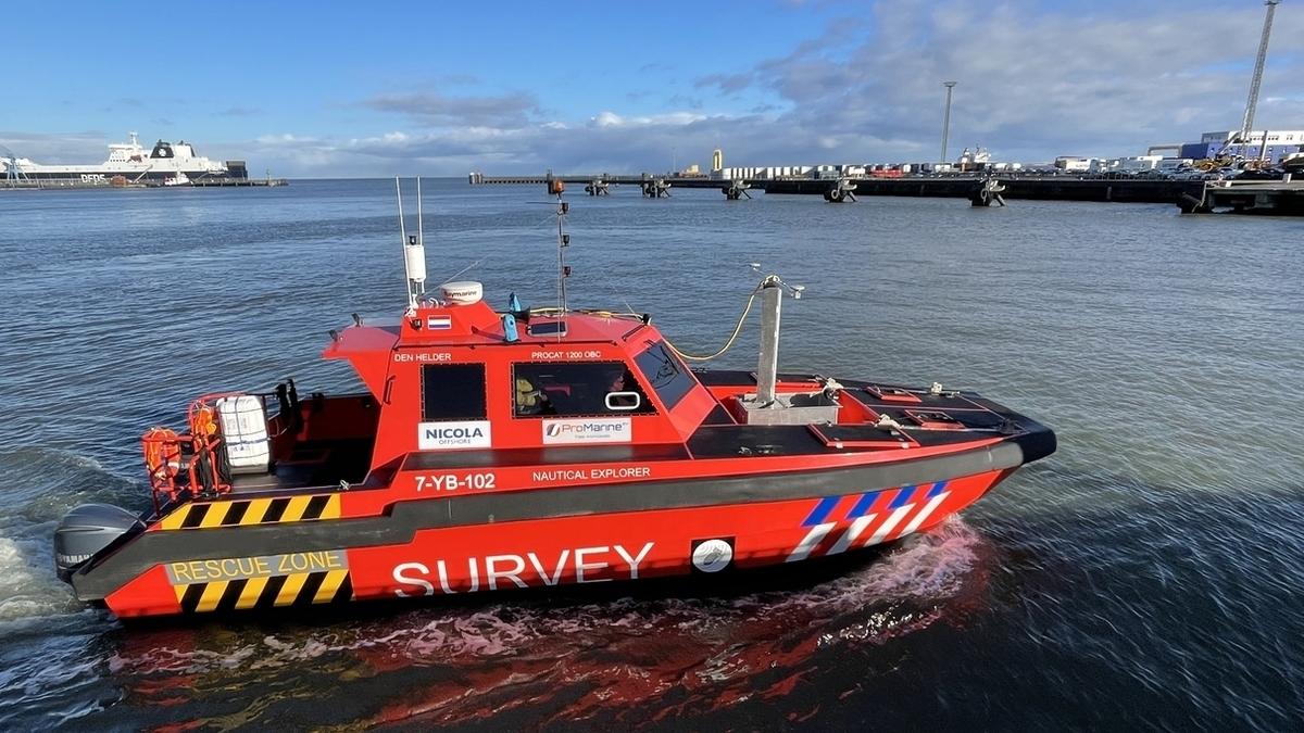 Nicola Offshore survey vessel (Image: Nicola Offshore)
