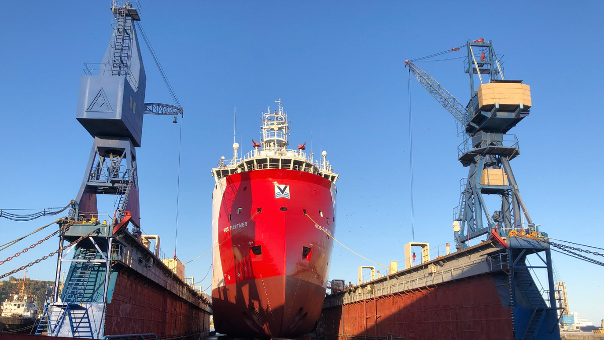 Spanish shipyard completes special survey of VOS PSV