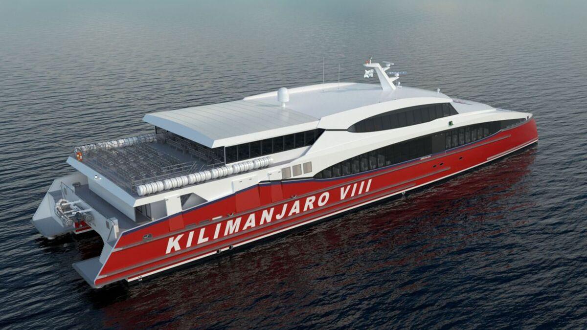 Incat Crowther to design catamaran bound for Tanzania
