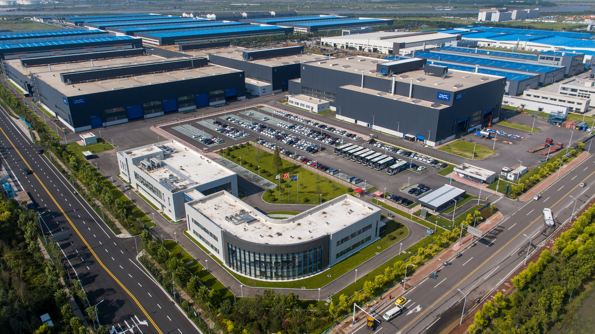 Alfa Laval's Quingdao factory (Image: Alfa Laval)