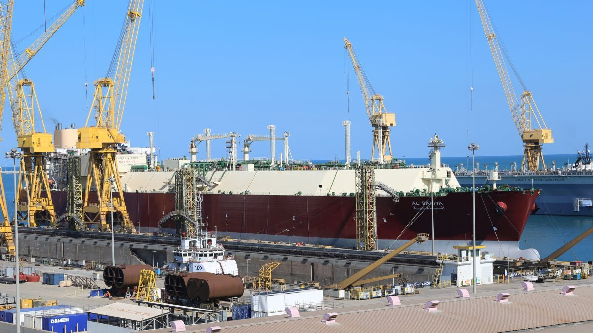 One of the LNG carriers recently docked by N-KOM is the 210,100 m3 Al Bahiya (source: N-KOM)