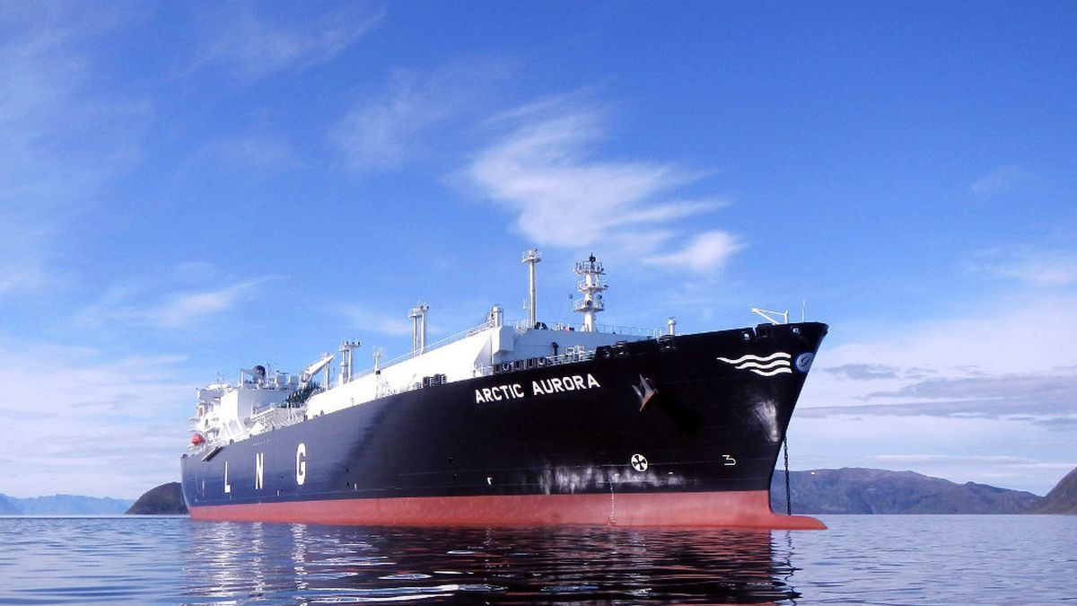 Dynagas LNG has extended the time charter of the Ice-class 1AFS LNG carrier Arctic Aurora with Equinor (source: Dynagas)