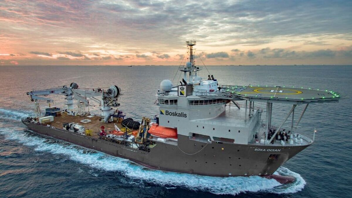 The deal to acquire the former CSV Southern Ocean was first announced in late March 2021