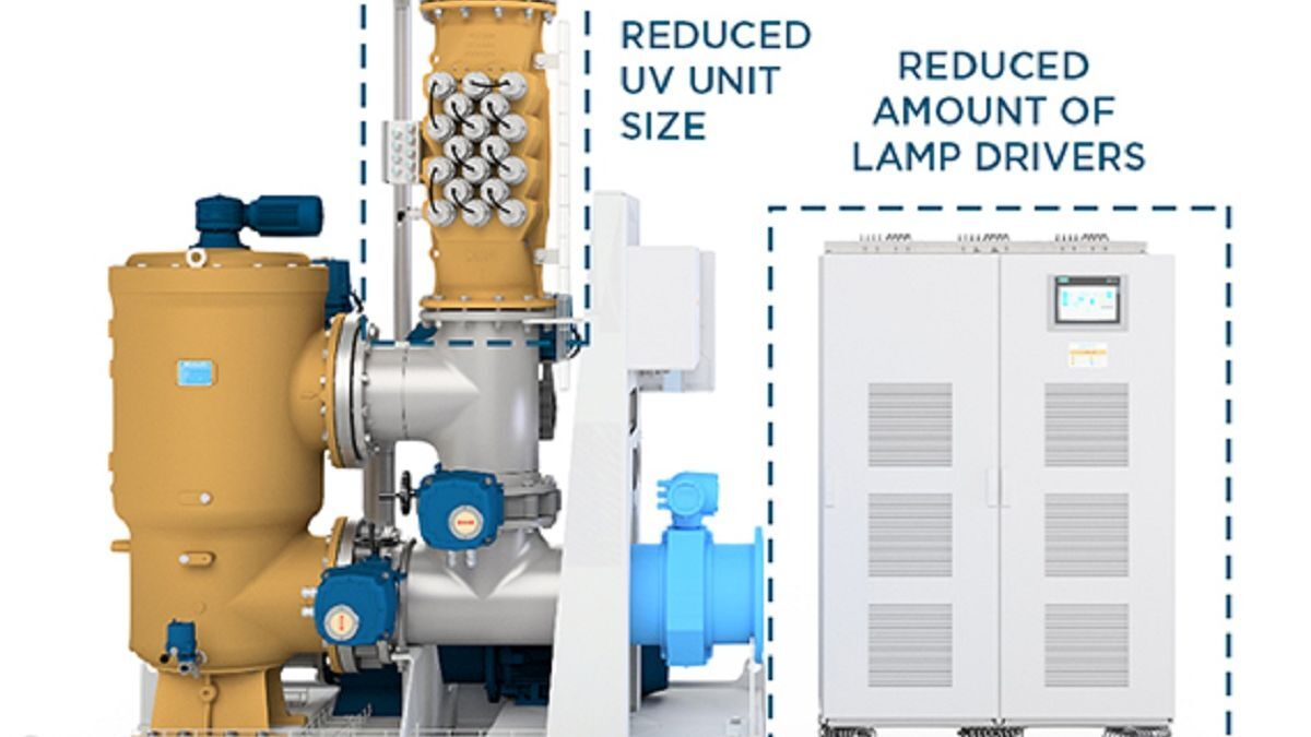 DESMI CompactClean OptIMO: optimised for regional trades outside US waters (source: DESMI)