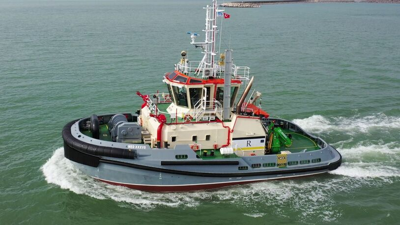 New harbour tug for Remolques Gijoneses