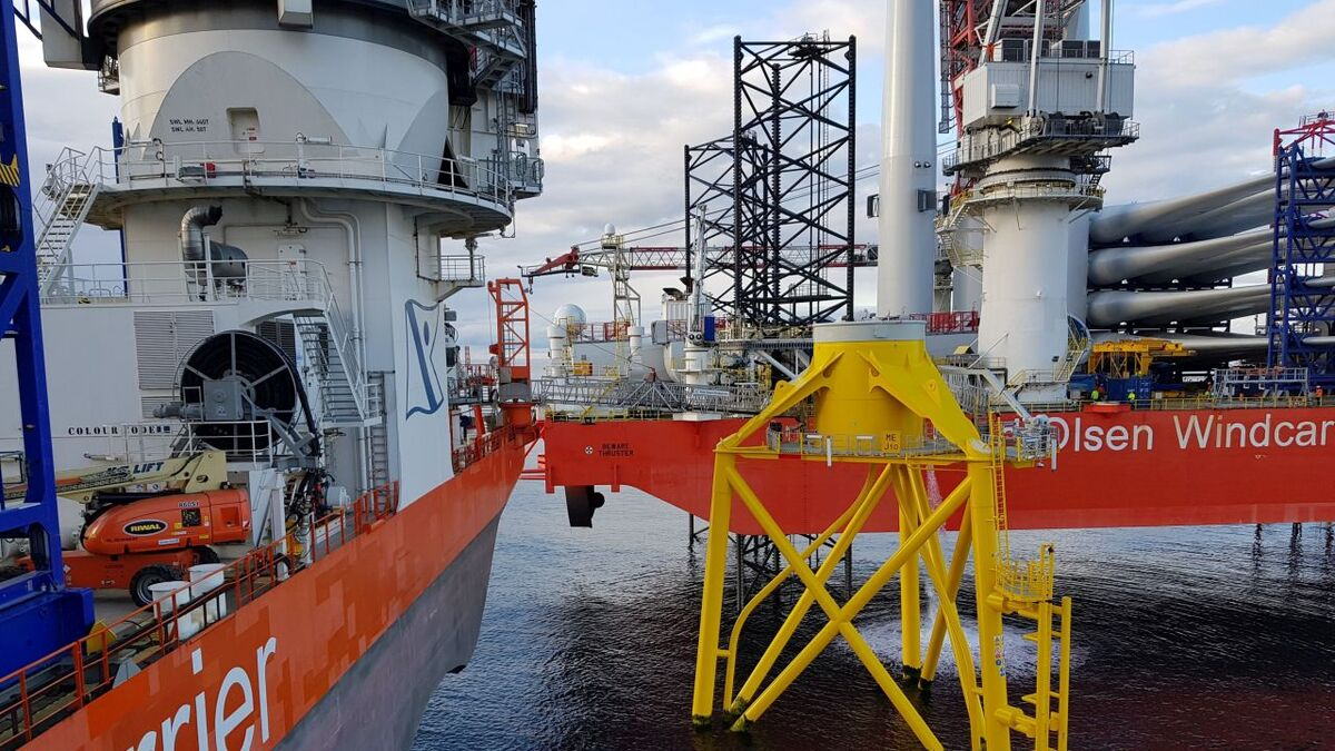 Fred Olsen Windcarrier has worked for Siemens Gamesa on a number of offshore wind projects