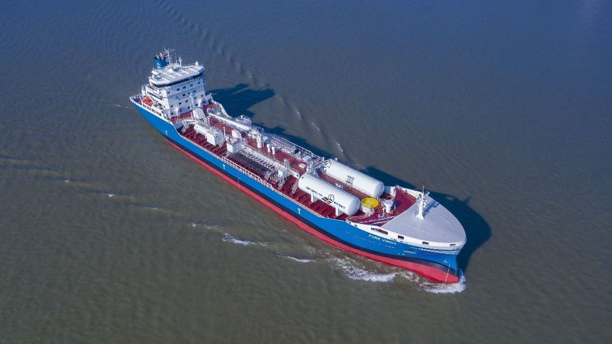 BV assigns first smart ship notation to chemical tanker