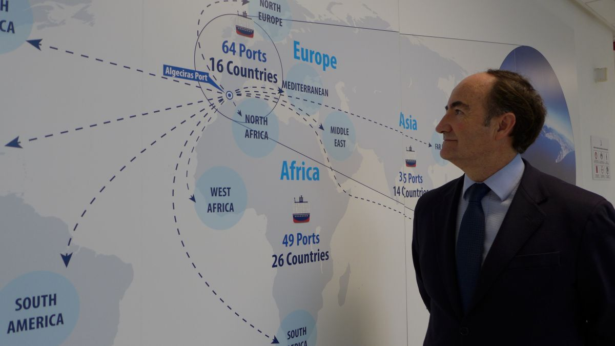 """Gerardo Landaluce (Algeciras Port Authority): """"A new supply chain order brings the opportunity to become the focal point of a regional value chain between southern Europe and north Africa to Algeciras Bay Port"""""""