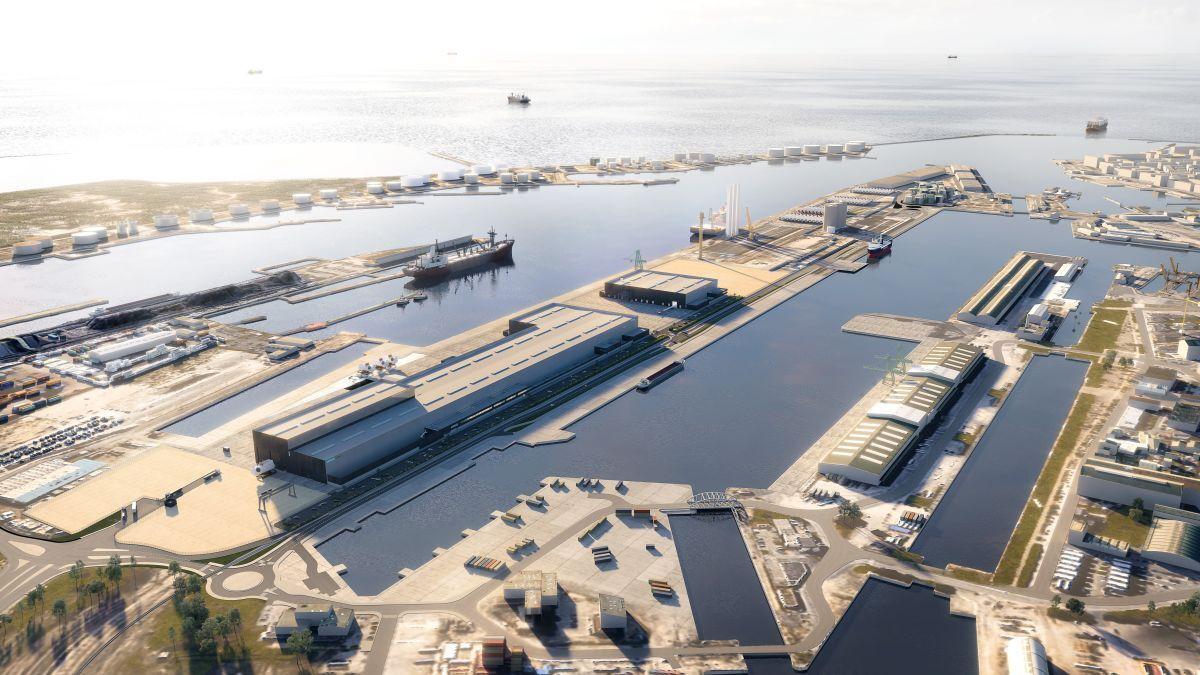 Illustration of port of Le Havre (source: Le Havre)