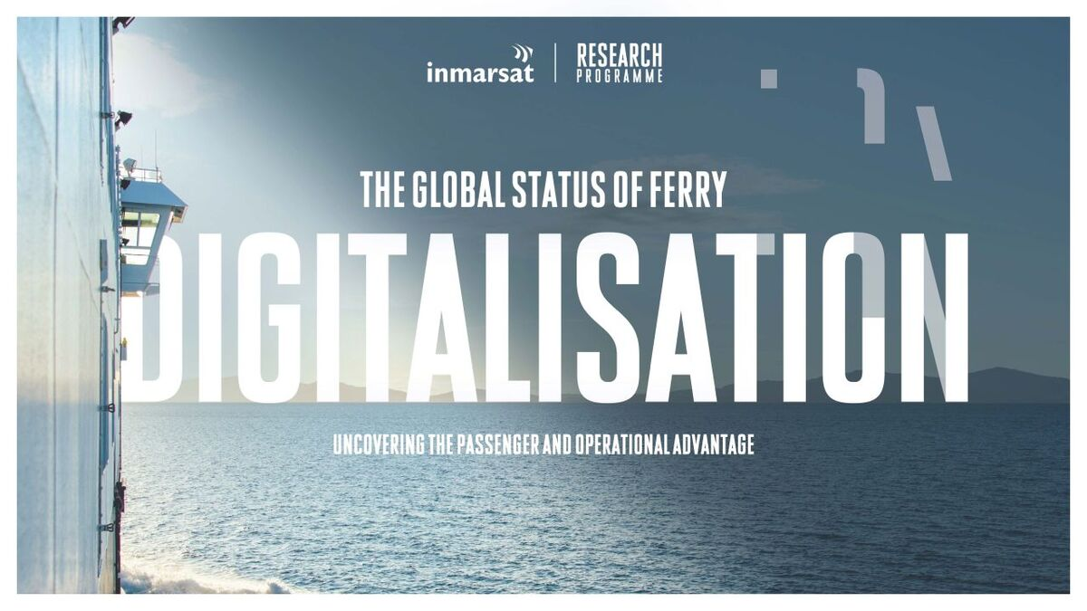 Ferry digitalisation report: 'huge' transformation opportunities