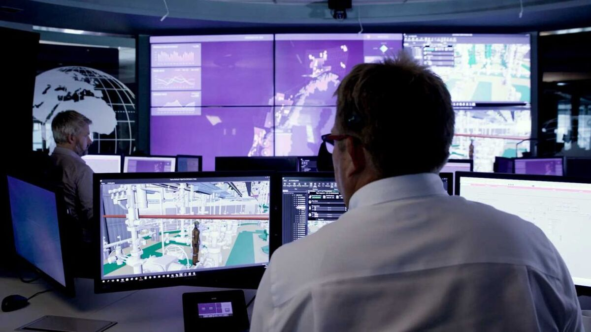 Kongsberg's digital twin technology will be applied to a BW LNG FSRU (source: Kongsberg Digital)