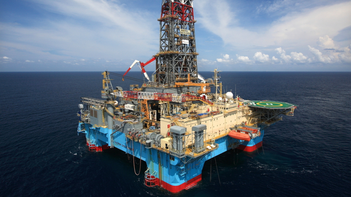 Maersk Discoverer is fully booked for 2021, with campaigns in Guyana and Trinidad and Tobago (source: Maersk Drilling)