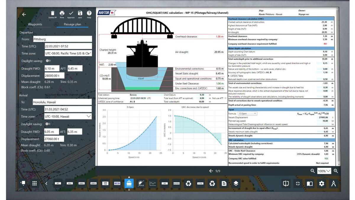NAVTOR's NavStation 6.0 has upgraded passage planning software (source: NAVTOR)