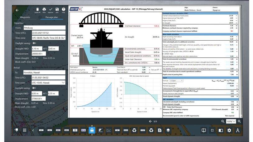 NAVTOR unveils new functions for navigation station