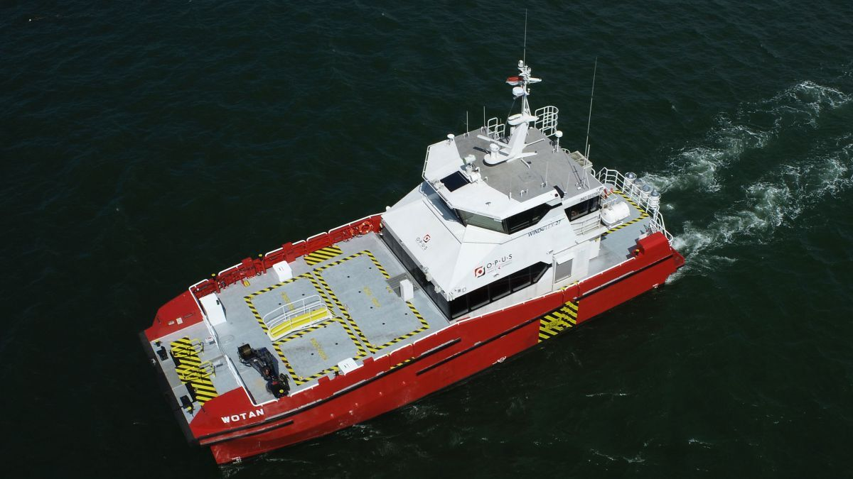Wotan is the first of two Windflex-27 crewboats for Opus Marine built at Penguin International