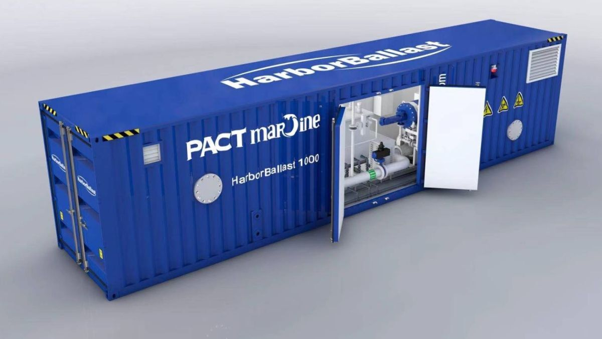 PACT HarborBallast: a containerised BWMS solution from China (source: PACT Marine)